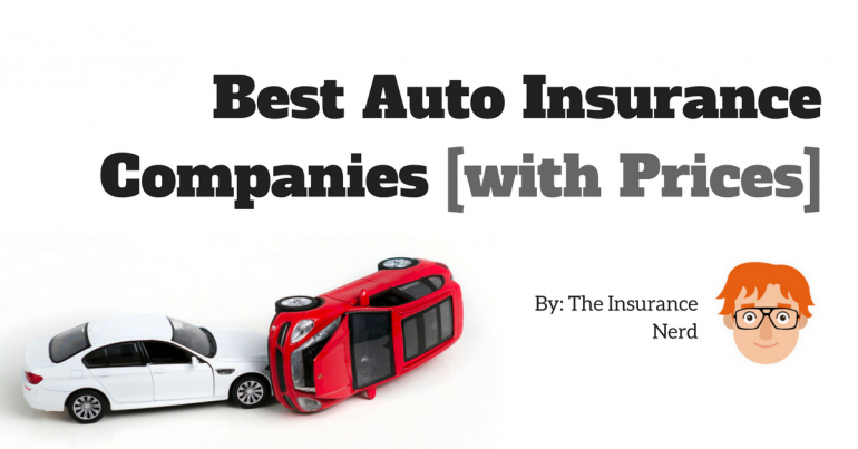 best car insurance companies 2018 reviews and quotes the insurance nerd. Black Bedroom Furniture Sets. Home Design Ideas